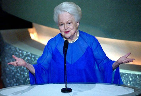 Olivia de Havilland at Oscars March 23, 2003